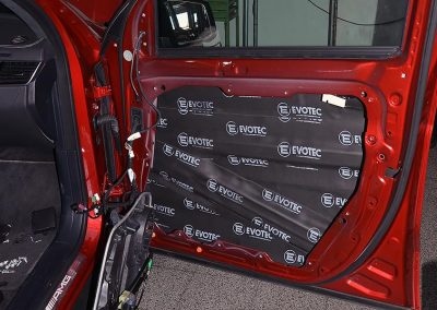Evotec Neoprene damping door, car Mercedes GLS 10